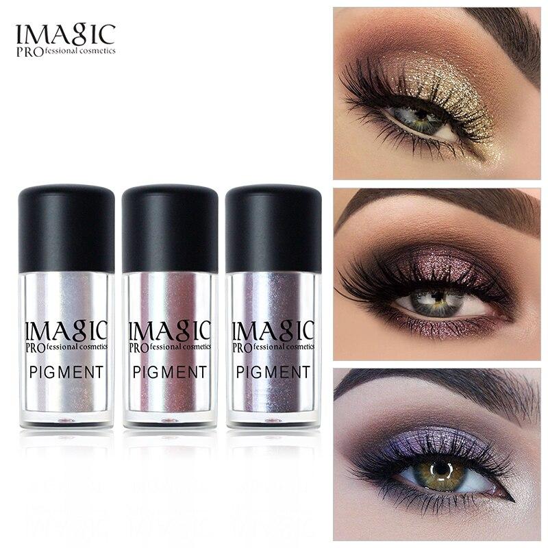 Imagic Glitter Eye Shadow Metallic Loose Powder Waterproof Shimmer