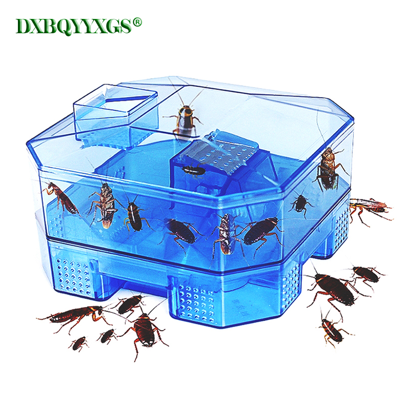 Cockroach Trap Fifth Upgrade Safe Efficient Anti Cockroaches Killer Plus Large Repeller No Pollute For Home