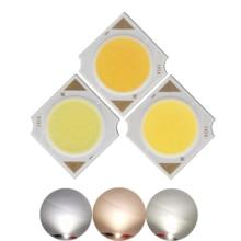 1pcs 5pcs 10pcs 14mm Square LED COB Light Source Epistar chip 5W 15-17V 300mA 600lm for down spotlight lamp