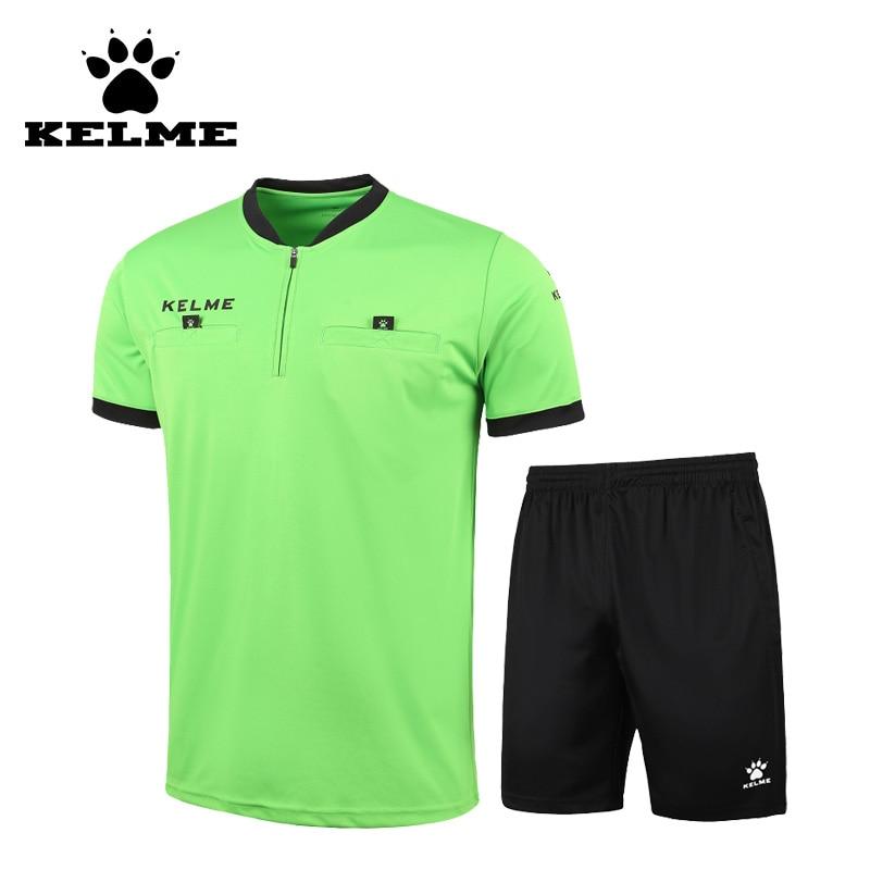 KELME Football Jerseys 2017 Pengadil Bola Sepak Pendek Lelaki - Pakaian sukan dan aksesori