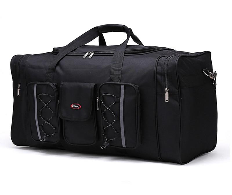 Black Custom Durable Multi-Functional Travel Luggage Bag Duffle Bag Promotional Gift Bag