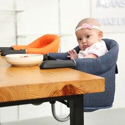 Silla de comedor portátil para bebés, sillas de viaje para niños, sillas de mesa con gancho rápido, sillas plegables para comer, sillas altas para niños