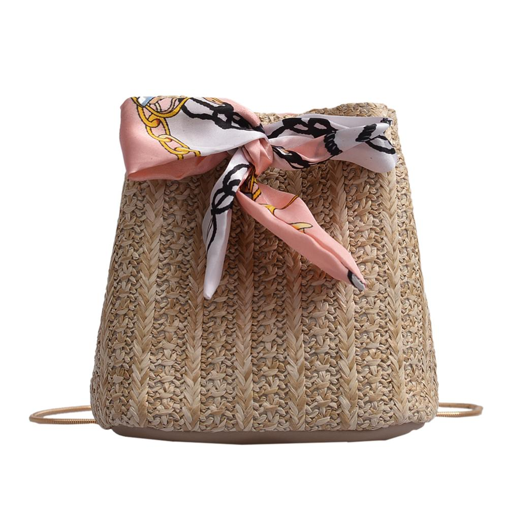 Straw Weaving Shoulder Bag for Women Messenger Handbags Casual Bucket Crossbody Bags Sac A Dos Bolsas Feminina Mujer Sac A MainStraw Weaving Shoulder Bag for Women Messenger Handbags Casual Bucket Crossbody Bags Sac A Dos Bolsas Feminina Mujer Sac A Main