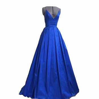 Royal Blue Long Evening Dress New Arrival Elegant Sexy Backless Women Formal Dresses For Wedding Guest Cotillon Party - DISCOUNT ITEM  12% OFF All Category