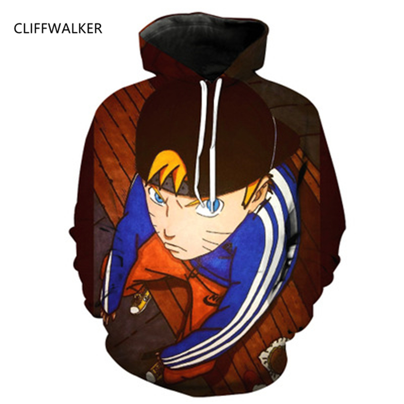 Dropshipping Hot Naruto 3D Print Anime For Women Men Hoodie Sweatshirt Long Sleeve Outerwear Pullovers Anime Loose Casual Tops