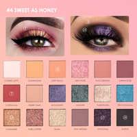 FOCALLURE 18 colores mate brillo paleta de sombra de ojos brillo pigmentada dulce como la miel paleta natural larga duración sombras de ojos