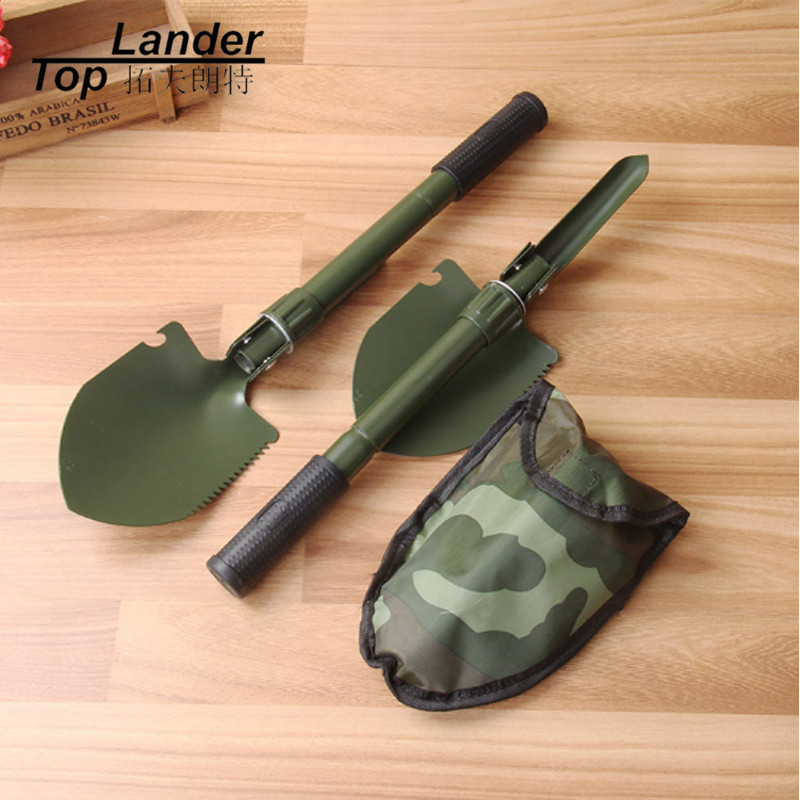 Portable Folding Multifunctional Shovel Military Saw Trowe Pickaxe Survival Shovel Spade Emergency Tool Sapper Shovel professional military tactical multifunction shovel outdoor camping survival folding portable spade tool equipment hunting edc