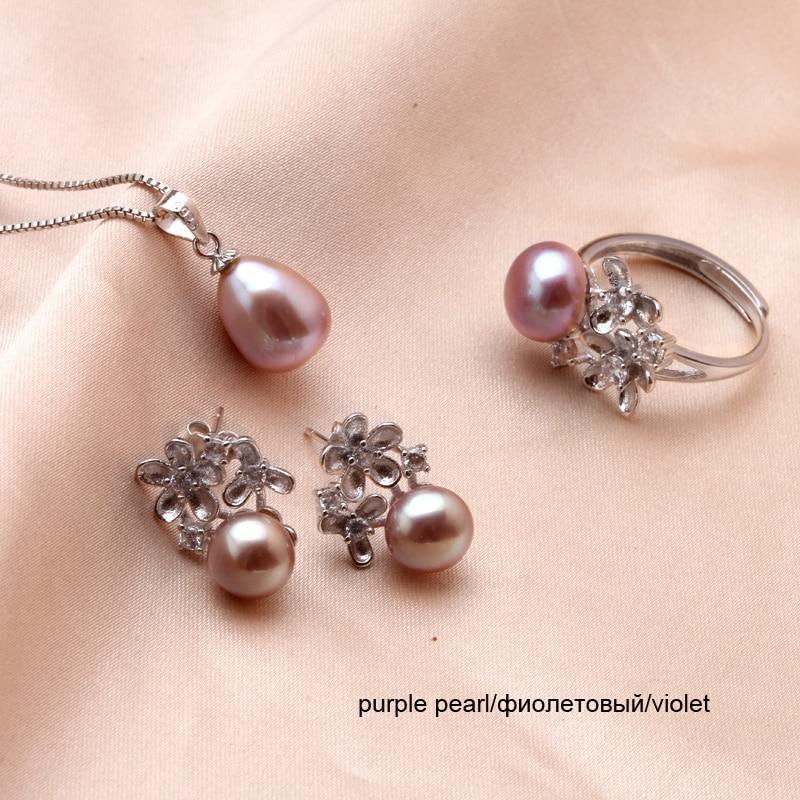 8c770659c6e6 Dainashi 90% blanco rosa púrpura gris cultivadas perla agua dulce de  joyería barroca pulsera con