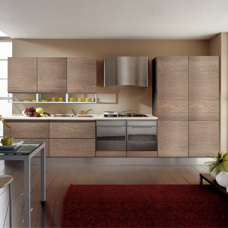 Cheapest Wood For Kitchen Cabinets: USA New Style Cheap Custom Wood Kitchen Cabinet Sets-in