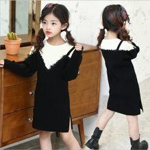 5c45822c92c Кружево лоскутное Обувь для девочек вязаный свитер Детские платья для Обувь  для девочек зимняя-осенняя