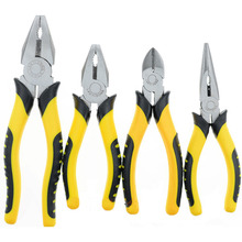 цена на 8-inch 6-inch Diagonal Long Nose Plier Wire Cutter Tool