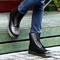 Martens Women Boots Dr Main boots High quality split Leather shoes Motorcycle Autumn Winter Martens Women Boots size 34 46