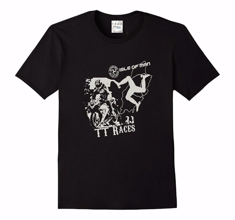 Mens T-Shirts Fashion 2018 Casual Slim Fit Brand Clothes T.T. Race T-Shirt Tt Races, 1961 T Shirt Shop 100% cotton Tee shirt