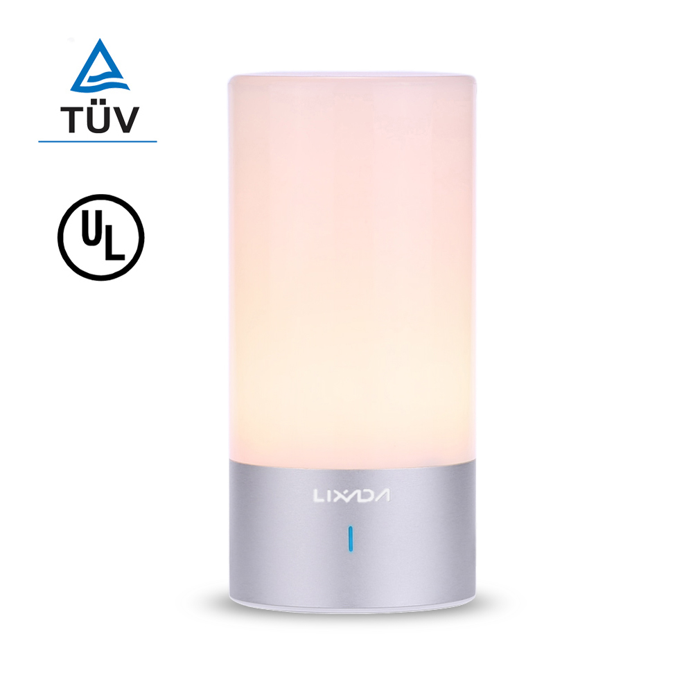 Led night light warm white - Lixada Rgb 256 Colors Changing 360 Degree Touch Control Led Atmosphere Bedside Night Light 6w Warm