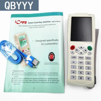 QBYYY Arrival English version iCopy 3 Full decode function Smart Card Key Machine RFID NFC Copier IC/ID Reader/Writer Duplicator