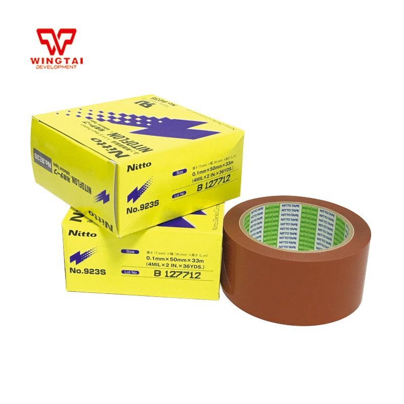 1 Roll T0.10mm*W50mm*L33m NITTO PTFE Nitoflon Adhesive Heat Resistance Tape 923S-in Tape From