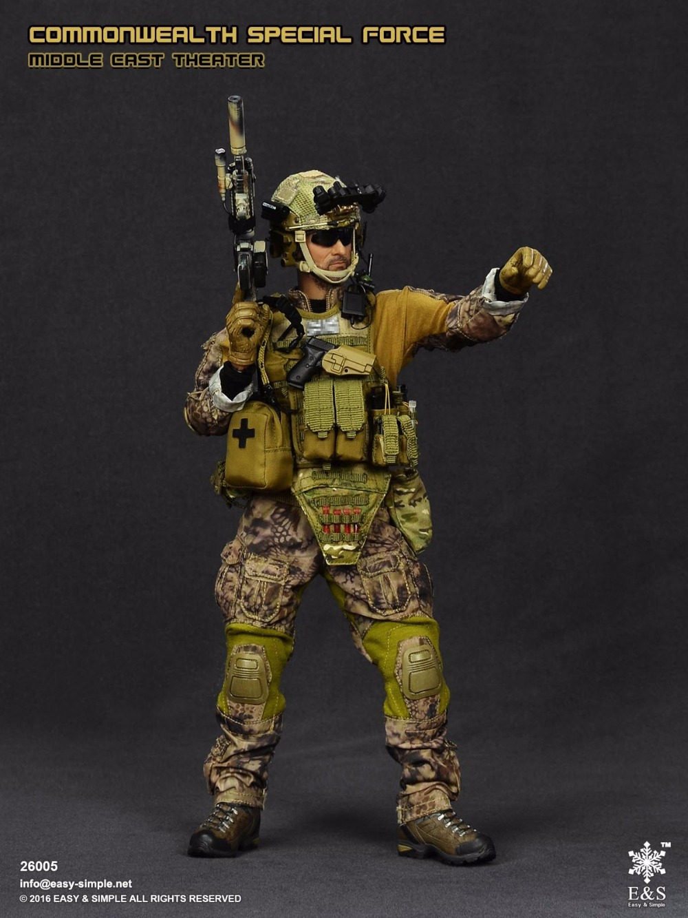1:6 scale Super flexible military figure 12 action figure doll Collectible Model toys Commonwealth Special Force Middle East did1 6 scale doll american expeditionary force infantry special edition super flexible figure model wwi soldier finished product