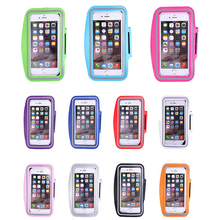 Etmakit Durable Running Jogging Sports GYM Arm Band Strap Case Cover for iPhone 7 6 6s 6 Plus 5 5S Waterproof Phone Bag Case