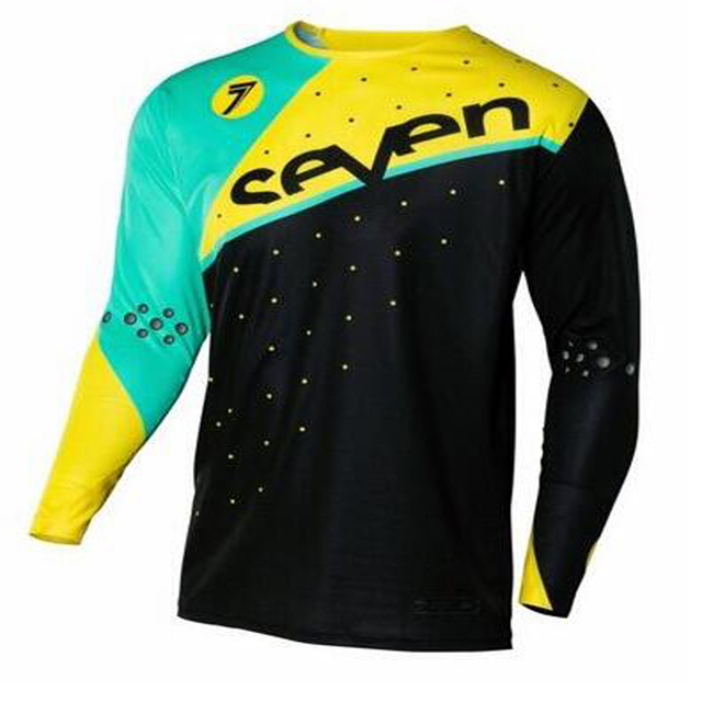 2017 Quick dry 2017 New SEVEN Men DH MX Downhill motocross jersey  motorcycle moto long sleeve off-road jersey free shipping xs 2e46a1559