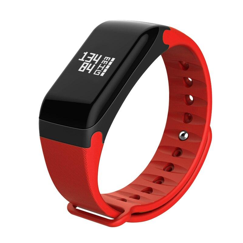 HUACP R3 Smart Bilək zolağı Fitness İzləyicisi Ürək dərəcəsi monitoru Ağıllı qolbaq IP67 Bluetooth 4.0 Sleep Tracker SMS / Zəng xatırlatması