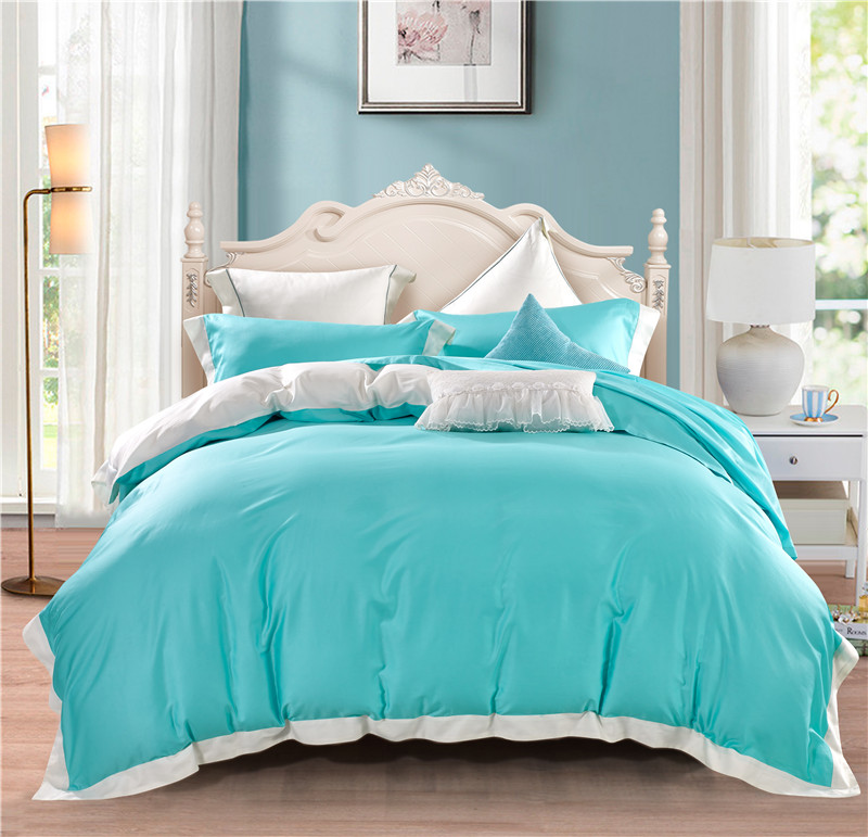 2017 new 4-Pieces 100% Egyptian Cotton Luxury Bedding Set solid color Bed Set King Queen Bed Linens Duvet Cover Bed Sheet2017 new 4-Pieces 100% Egyptian Cotton Luxury Bedding Set solid color Bed Set King Queen Bed Linens Duvet Cover Bed Sheet