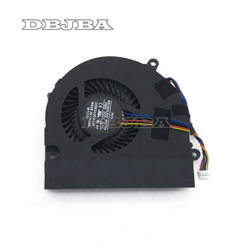 CPU Cooling Fan for Asus U41 U41J U41JF U41E U41SV laptop cpu cooling fan cooler KSB06105HB DFS531005PL0T FB85 FA79 4PINS laptop cpu cooling fan for asus x455ld x455cc a455 a455l k455 x555 sunon mf60070v1 c370 s9a