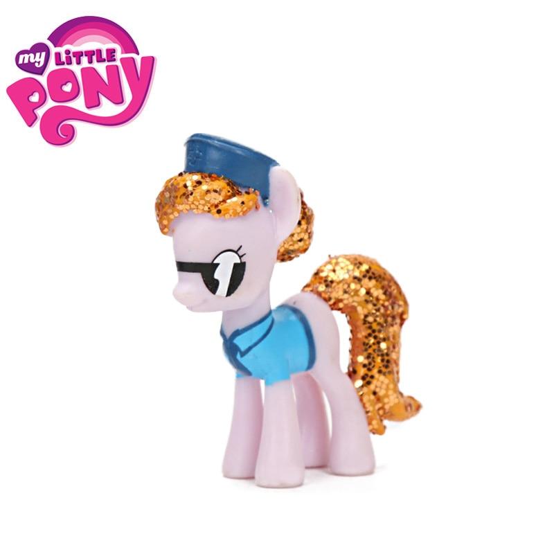 My Little Pony Toys Mini Pony PVC Action Figure Princess Rainbow Dash Twilight Sparkle Apple Jack Rarity Dolls For Girls
