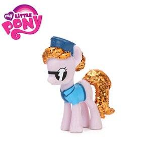 Figuras de acción de My Little Pony, Mini Pony de PVC, princesa Rainbow Dash, Twilight Sparkle, Apple Jack Rarity, muñecas para niñas