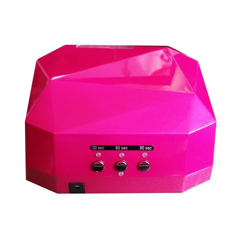 Popular Brand New LED UV Lamp For Nail Dryer,36w 110-240V Diamond Shaped UV Gel Nails Polish For Nail Art In Retail Package