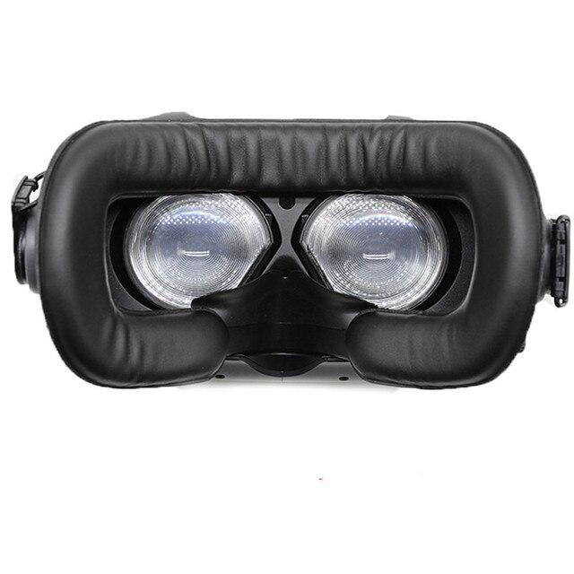 Für HTC vive/pro VR Speicher Gesicht Schaum Ersatz. Komfortable Pu Leder Kissen Pad, Erhöht FOV. 10*210*110mm