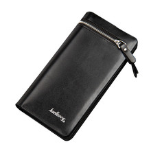 Hasp&Zipper Fashion Wallet Famous Brand Men Wallets Wris