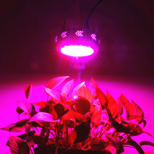 Image 2 - 2pcs/Lot 150W LED Grow Light UFO 50X3W LEDs Full Spectrum Grow Box for Indoor Greenhouse Hydroponics Plants Flower Vegetables