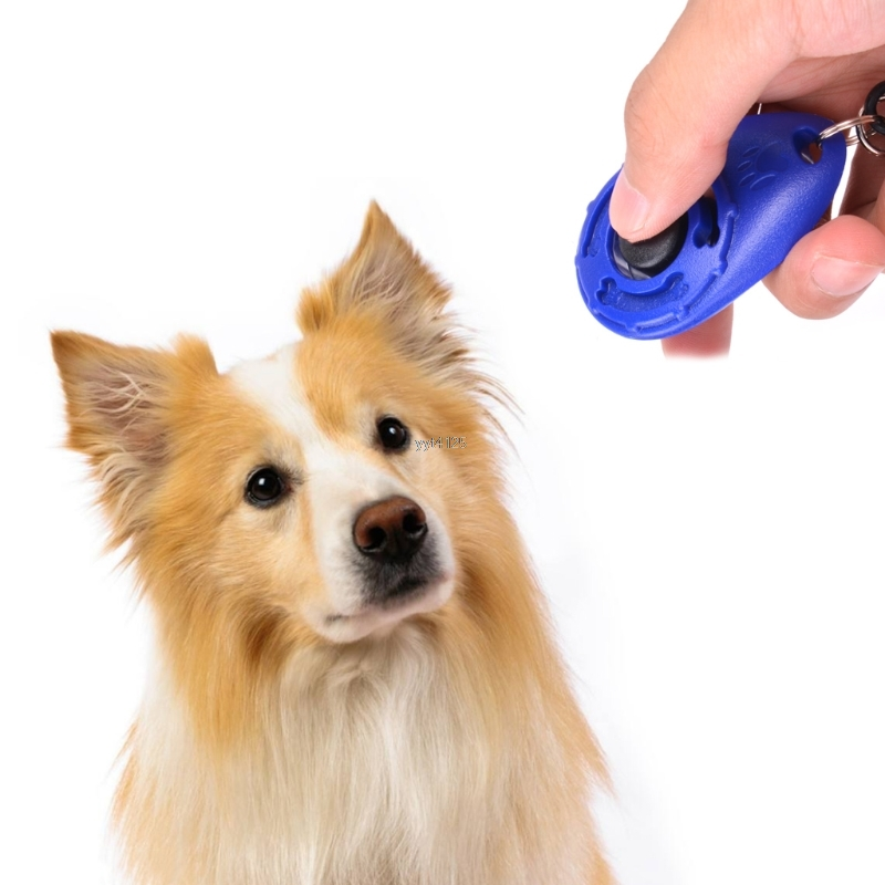 Pet Trainer Pet Dog Training Clicker Adjustable Sound Key Chain Dog Clicker Dog Agility Trainings Products Supplies Apr