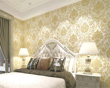 beibehang Palace European Style 3D Carving Nonwoven 3d Wallpaper Living Room Bedroom Background papel de parede behang