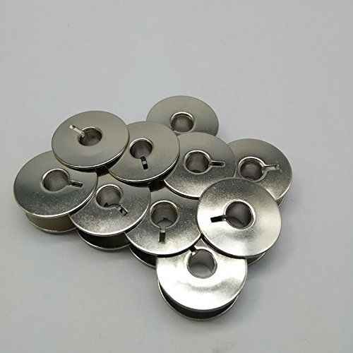 10 metalen Spoelen Voor Babylock Brother Pfaff Viking Quilten Machines #55623S