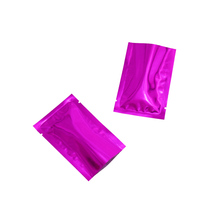 100pcs 9*13cm Bulk Food Smell Proof Storage Open Top Mylar Pouch Heat Sealer Sealable Dried Vacuum Packaging Aluminum Bags