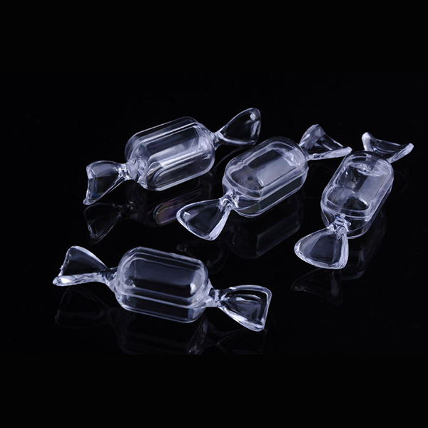 Lovely Accessory Candy Box Tiny Display Crafts Beads Container Case DIY Clear Storage Jewelry 5/10PCS