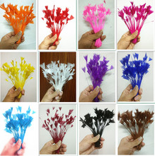 20 pc beautiful natural turkey feathers, long 4-6 / 10-15cm, diy jewelry clothing accessories