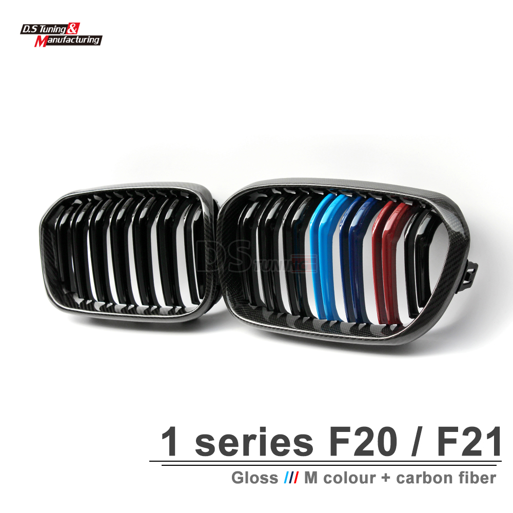 Image 3 - F20 LCI replacement carbon fiber hood grille for bmw facelifted F21 120i 118i 116i 116d M135i M140i 2015 2016 2017 2018-in Racing Grills from Automobiles & Motorcycles