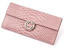 The new Korean women 's leather wallet wallet