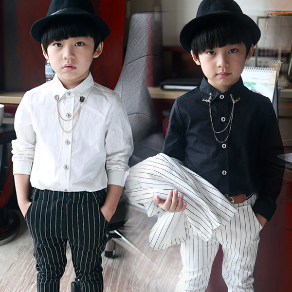 Online Get Cheap Boys Black Formal Shirt -Aliexpress.com  Alibaba ...