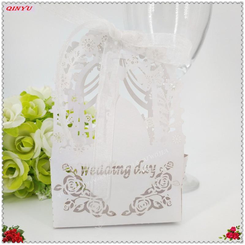 20pcs Invitation Holders With Inner Sheets Wedding Card Set Laser Cut Favor Decor Decoration