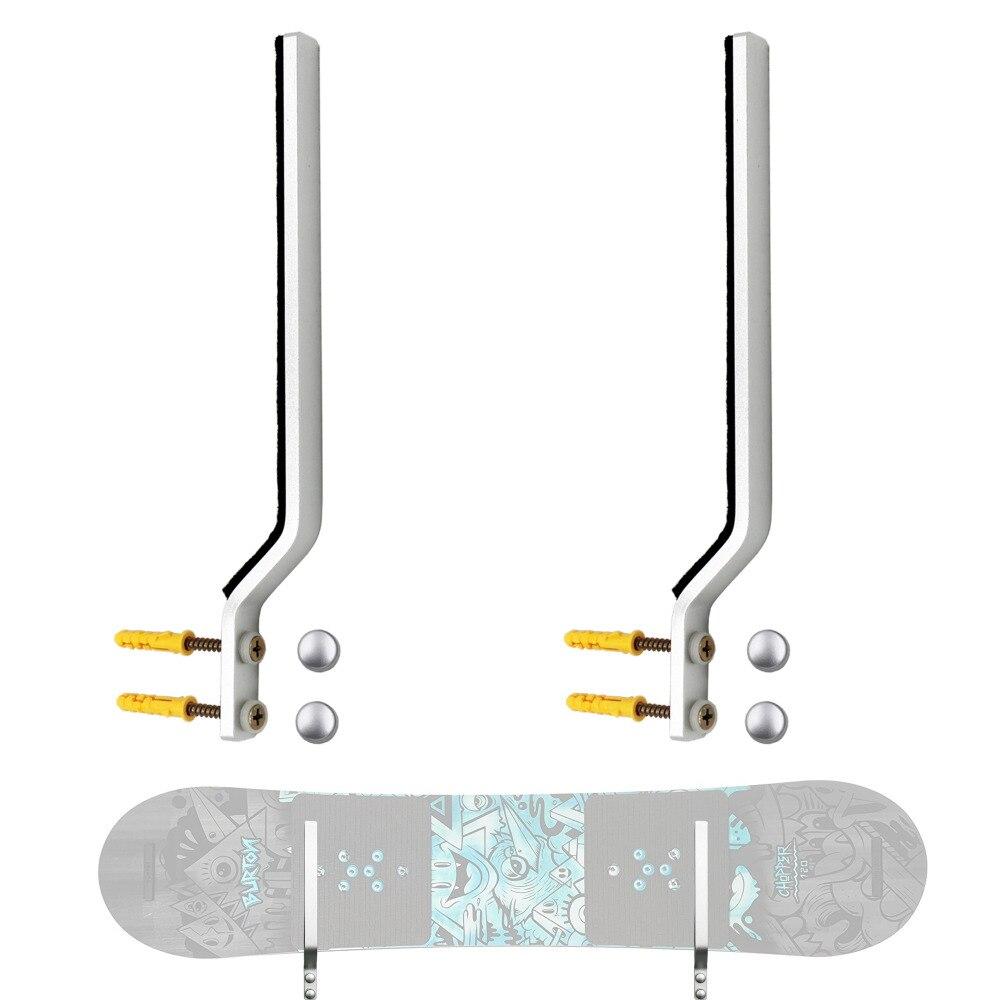 Стойка для хранения сноуборда дисплей грубая склад-хралилище подставленное к стене стойка-подходит для большинства сноубордов (не толще 30 ...