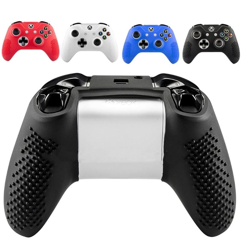 Unterhaltungselektronik Videospiele KüHn Neue Gamepad Hülse Anti-rutsch-silikon Abdeckung Fall 2 Joystick Caps Für Xbox One S Slim/x Controller Heißer Warm Und Winddicht