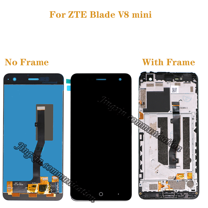 for ZTE Blade V8 mini LCD + touch screen digitizer assembly for zte V8mini BV0850 display Repair kit-in Mobile Phone LCD Screens from Cellphones & Telecommunications