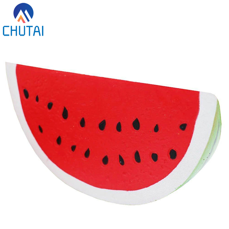 Fruit Watermelon Squishy Slow Rising Jumbo Kawaii Squishies Kids Stress Relief Squeeze Toys Party Xmas Gift 17*8*5CM