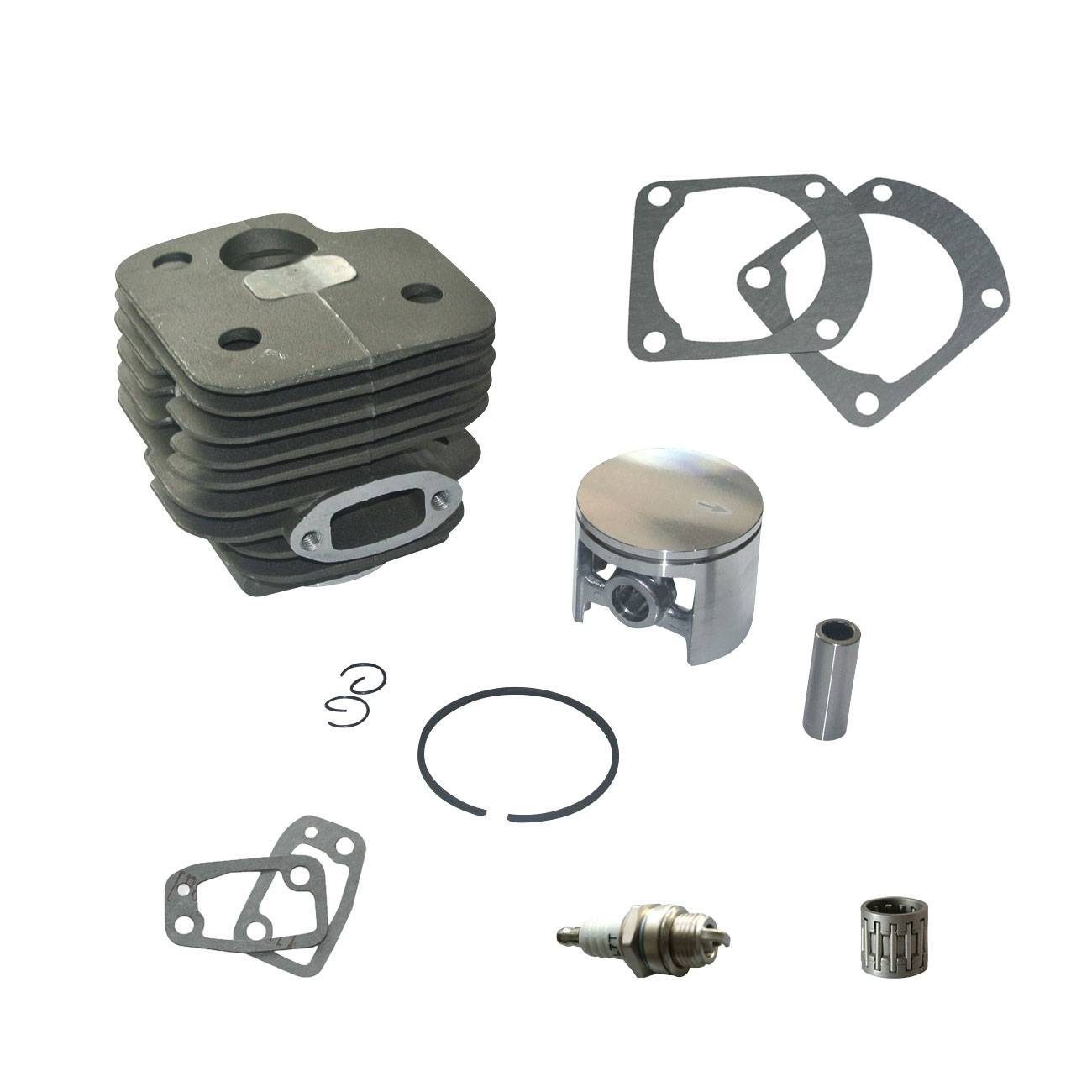 Cylinder Piston Gaskets Bearing Kit For Husqvarna 268 272  REP #501 laidong km4l23bt for tractor like luzhong series set of piston groups with gaskets kit including the cylinder head gasket