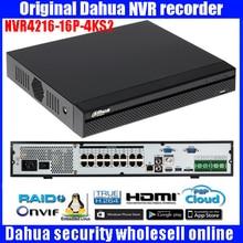 Original Dahua English version DAHUA 16/32 Channel 16PoE 4K&H.265 Lite Network Video Recorder NVR4216-16P-4KS2/NVR4232-16P-4KS2