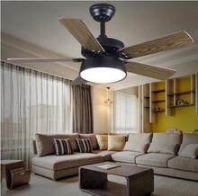 High quality FAN droplight natural wind restoring ancient ways LED fan lights sitting room bedroom