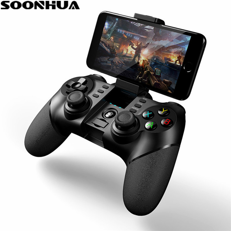 SOONHUA Senza Fili di Bluetooth Controller di Gioco A Distanza Per iphone Android Phone Tablet PC Gaming Controle Joystick Gamepad Joypad